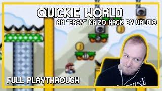 Quickie World - Full Playthrough [SMW Kaizo Hack]