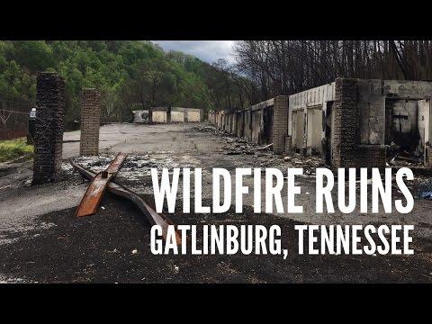 Wildfire Devastation in Gatlinburg, Tennessee (5 Months Later)