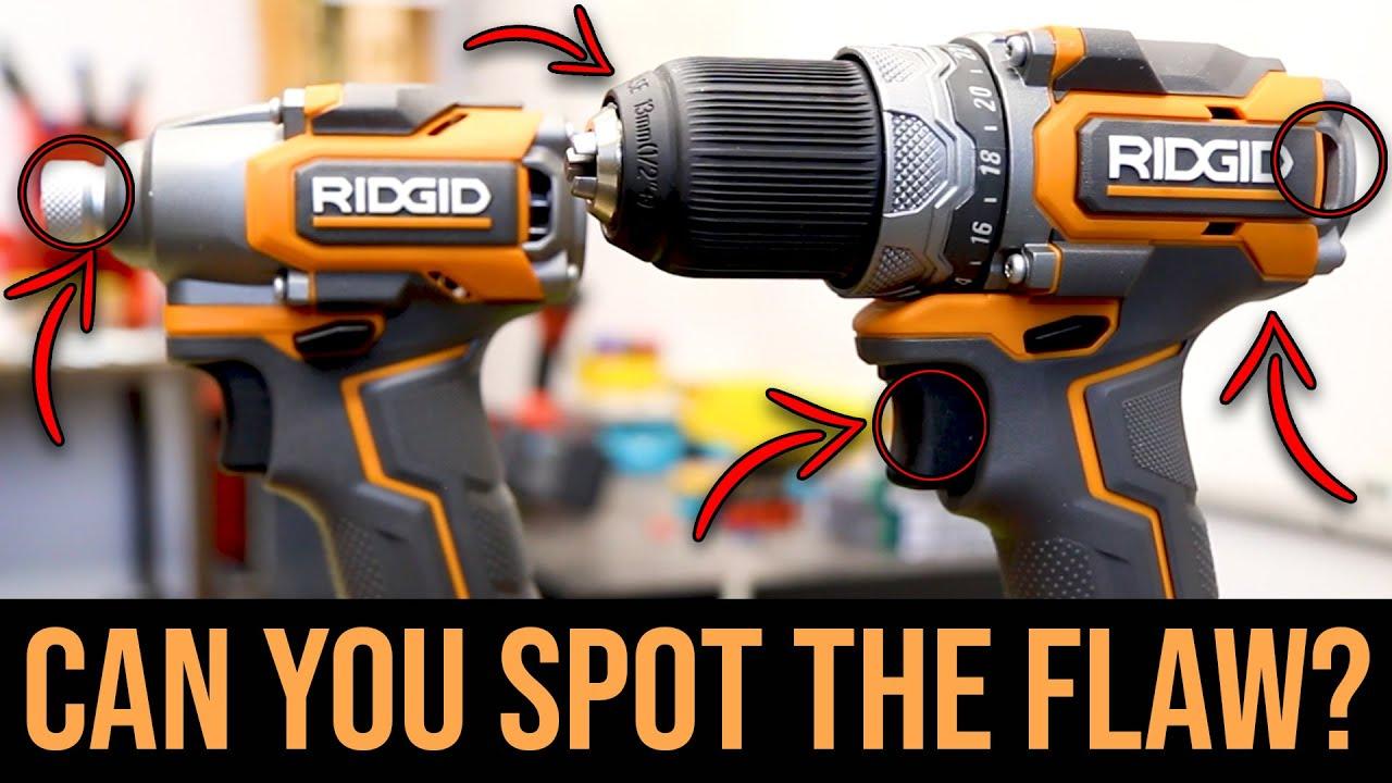 NEW RIDGID SubCompact Drill & Impact Driver Kit HAS A MAJOR FLAW