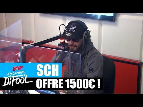 Youtube: SCH offre 1500€ à un auditeur! #MorningDeDifool
