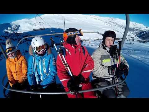 Andorra la Vella-2017; Grandvalira; Mountain skiing.