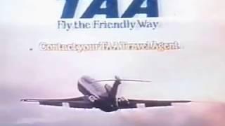 TAA advert 1970s.
