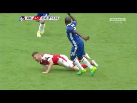 Aaron Ramsey vs Chelsea (FA Cup Final)