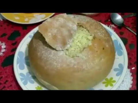 Pão Italiano Caseiro com Sopa de Legumes