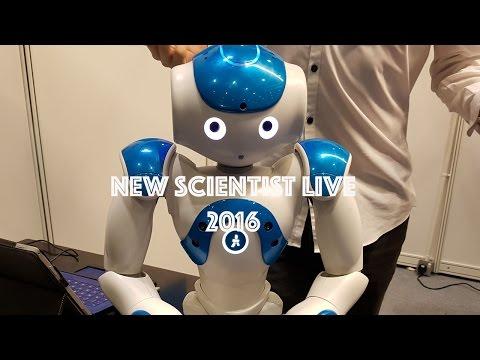 New Scientist live// Tim Peake// Doomsday// Day 1