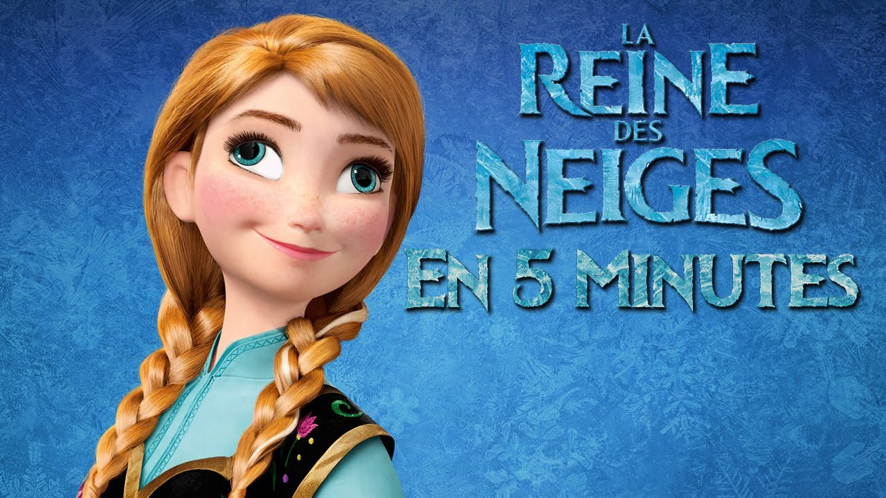 La reine des neiges en 5 minutes youtube - Raiponce reine des neiges ...