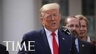 President Trump holds news conference as COVID-19 virus continues to spread in the US   TIME