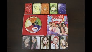 |Unboxing| Red Velvet 레드벨벳   5th Mini Album 'The Red Summer' w/ All Photocards