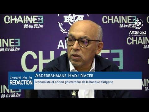 Abderrahmane Hadj Nacer Economiste et ancien gouverneur de la banque d'Algerie