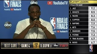 Draymond Green Press Conference | NBA Finals Game 3
