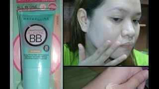 Maybelline Clear Smooth All in One BB Cream First Impression | Tagalog