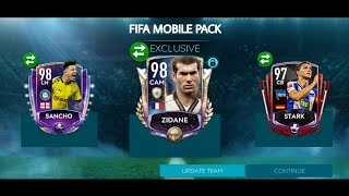 We got Prime Icon Zidane!!! SBC Sancho completed || Team upgraded to 114 OVR & other packsanity •