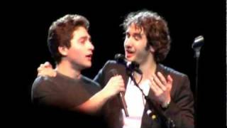 Josh Groban & Josh Page MSG Arena - The Prayer