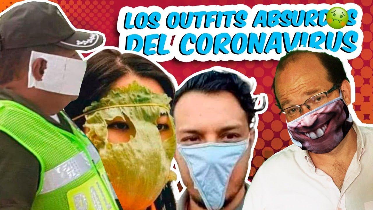 LOS TAPABOCAS MÁS  DELIRANTES DEL CORONAVIRUS