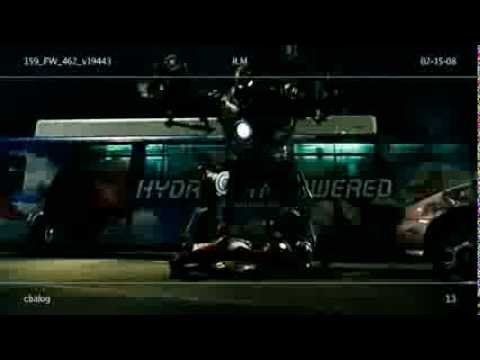 Final fight Iron Man vs Iron Monger. Deleted scene from Iron Man (2008). HD