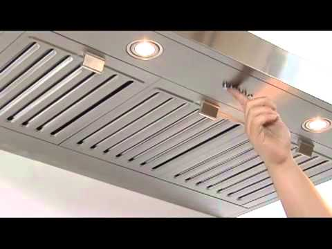 Windster Wall Range Hood Ra 60tb Series Video