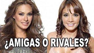 Rossana Nájera y Galilea Montijo ¿Amigas o rivales?