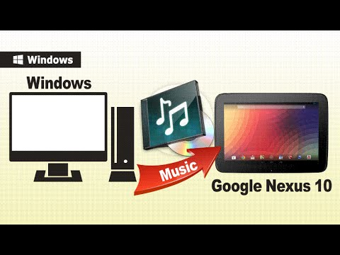 [Sync Music to Nexus 10/9/7]: How to Transfer Music from Computer to Google Nexus 10 Easily