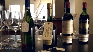 Tasting Wine Seized From Bernie Madoff's Collection