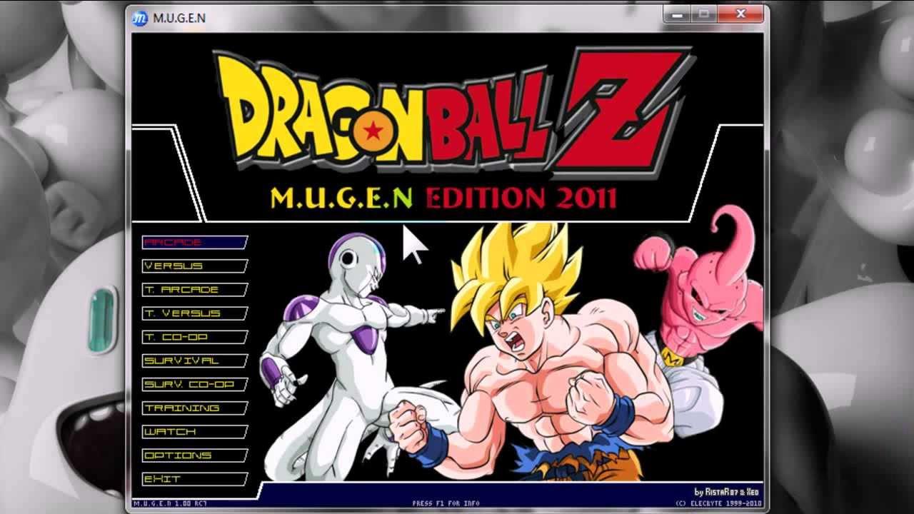 JEUX DRAGON-BALL-Z-MUGEN-EDITION-2011 GRATUITEMENT TÉLÉCHARGER