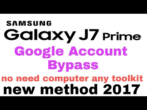 Samsung Frp lock Bypass 2018 Patch Without computer