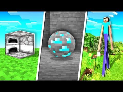 J'ai ajouté des choses ÉTRANGES à Minecraft ! (super bizarre !)