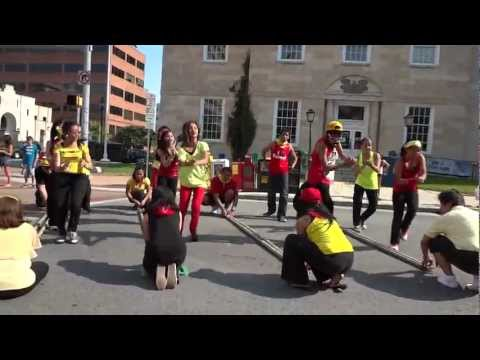 Hip-Hop Tinikling Street Dancing - PAACP in Baltimore Filipino Festival