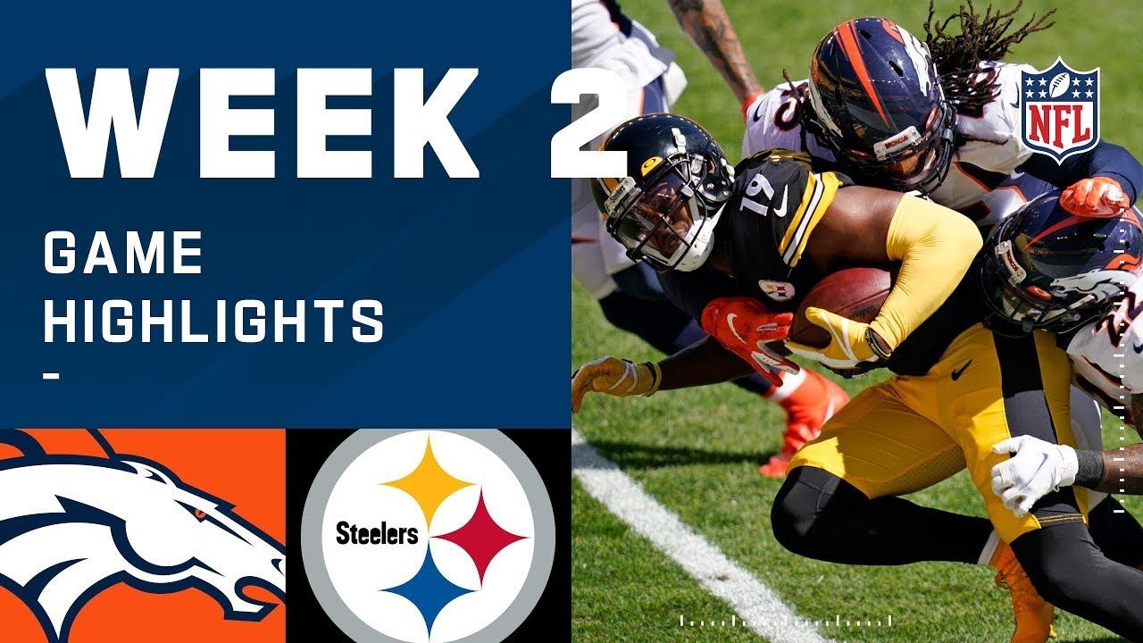 Broncos vs. Steelers Week 2 Highlights | NFL 2020