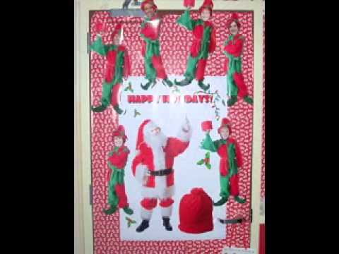 Creative Christmas Door Decorating Contest Ideas Youtube