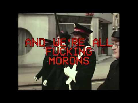 Comet Gain - We're All Fucking Morons (lyric video) Mp3