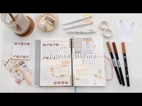 journal with me + free printable