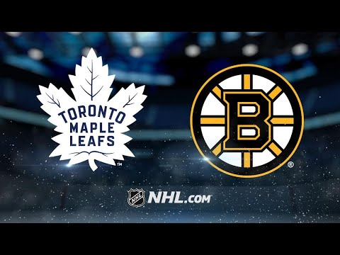 McElhinney shines in Leafs' 4-1 win over the Bruins