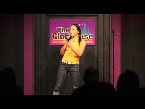 Kazu Kusano, Japanese female stand-up comedian