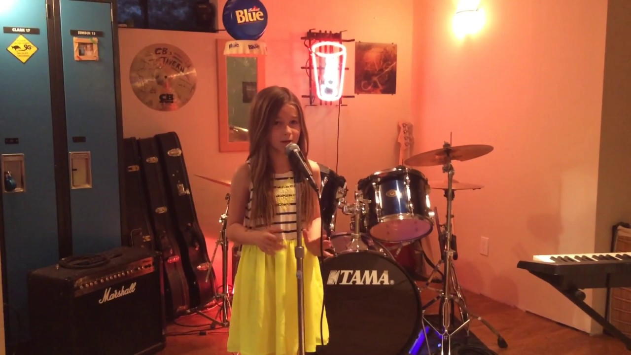 Sienna Rose cover of \'CHANDELIER\' by Sia (9 yrs old) - YouTube