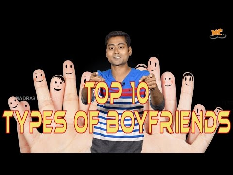 TOP 10 Types of Boyfriends | Ft. Varun | Countdown | Madras Central