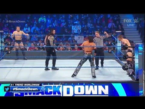 WWE Roman Reigns & Daniel Bryan vs The Miz & John Morrison:WWE SmackDown, Fed. 14, 2020