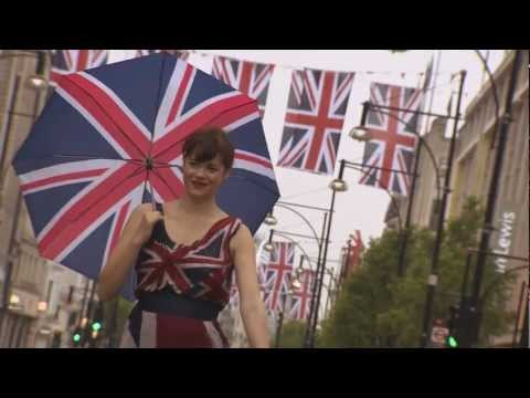 Cool Britannia: Oxford Street Marks the Queen's Diamond Jubilee in Style
