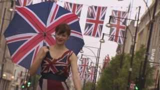 Cool Britannia: Oxford Street Marks the Queen