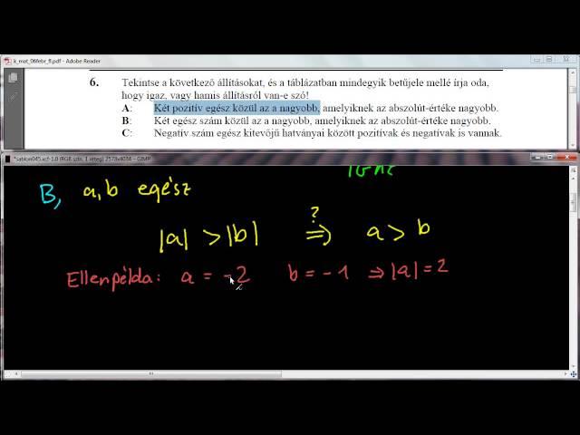 6. Feladat - Számelmélet