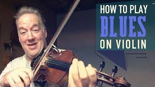 Blues Violin Tutorial | Play Along Blues Fiddle Licks