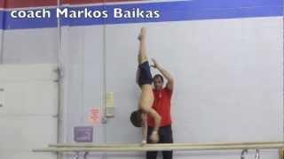 Gymnastics - Taiso, Canada - coach Markos Baikas