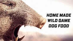 Wild Game DOG FOOD