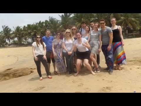University of Southampton Population and Geography Ghana field trip