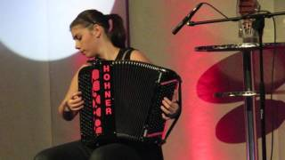 Trophée mondial de l'accordéon à Martigny - Lucia Genilloud 2 - 23.10.2015