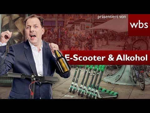 E-Scooter: Wiesn-Betrunkene verlieren Führerschein | Rechtsanwalt Christian Solmecke