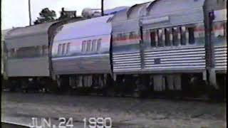 Amtrak 48 through the years 1990-2000 Part 1 (early to mid 1990)