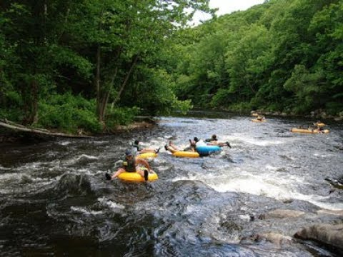 Our Saco River Tubing Adventure in Conway NH