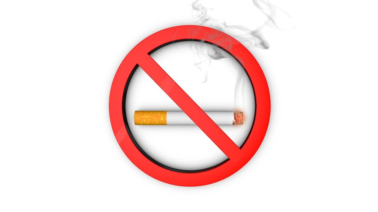 Cigarette No Smoking Symbol Animation 2 Styles Youtube