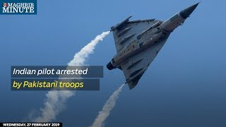 Indian pilot arrested by Pakistani troops