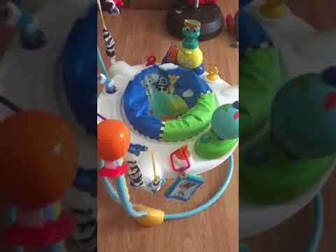 b2f4e3b492a Baby Einstein journey of Discovery jumper review - YouTube
